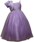 GIRLS CASUAL DRESSES  (0515724) LILAC